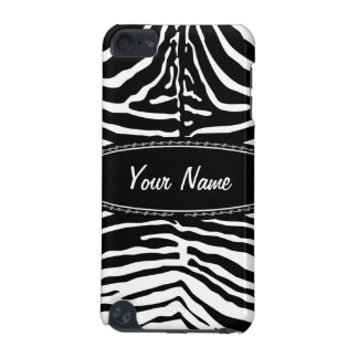 Zebra with your name iPod touch (5th generation) covers