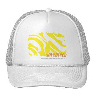 Zebra Yellow 2 Mesh Hat