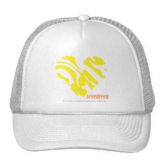 Zebra Yellow 4 Mesh Hat