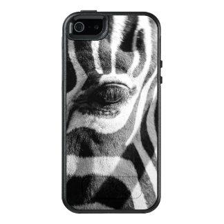 Zebra Zoom OtterBox iPhone 5/5s/SE Case