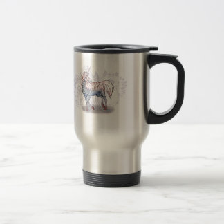 Zebracorn zebra-unicorn travel mug
