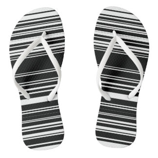zebrakka flip flops