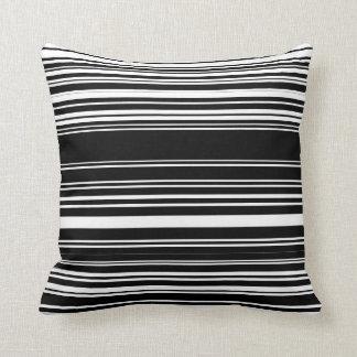 Zebrakka Throw Pillow