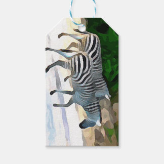 Zebras Gift Tags