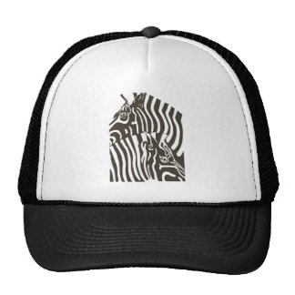 Zebras Mesh Hat