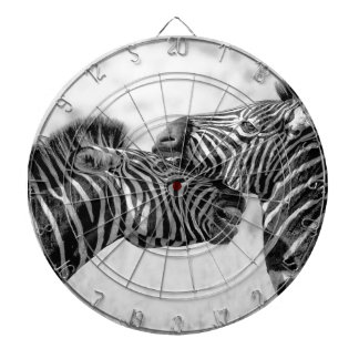 Zebras In Africa Dartboard