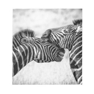 Zebras In Africa Notepad