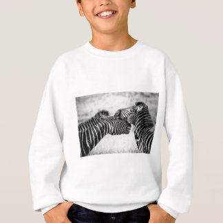 Zebras In Africa Sweatshirt