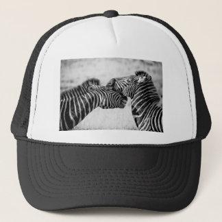 Zebras In Africa Trucker Hat