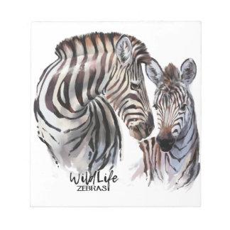 Zebras Notepads