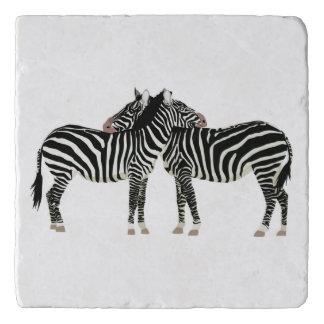 Zebras Trivet