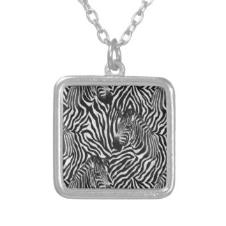 Zebtas Silver Plated Necklace