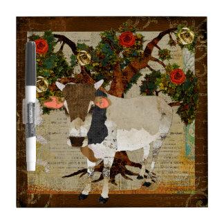 Zebu Rose Tree Dry Erase Board