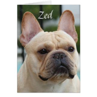 Zed Note Card
