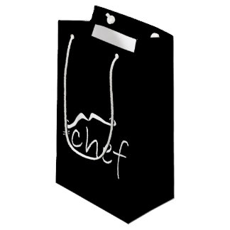 Zee French Chef Black SGB Small Gift Bag