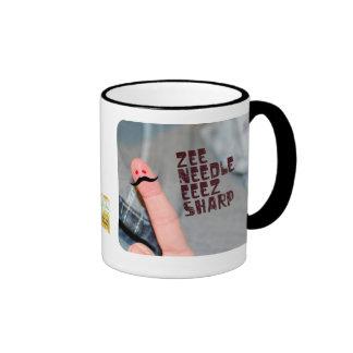 Zee needle eeez sharp coffee mug