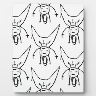 ZEF Devil Dik Plaque