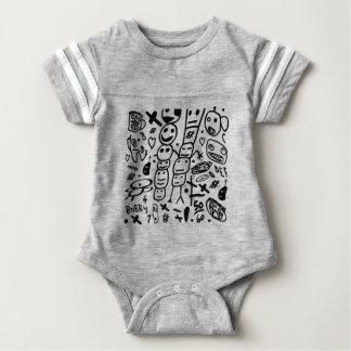 Zef Prawn Baby Bodysuit