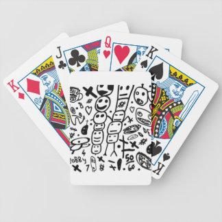 Zef Prawn Bicycle Playing Cards