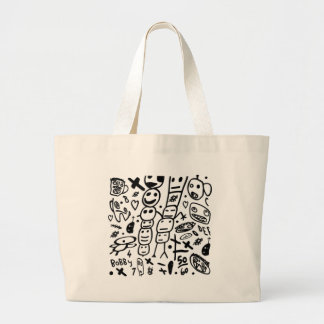 Zef Prawn Large Tote Bag