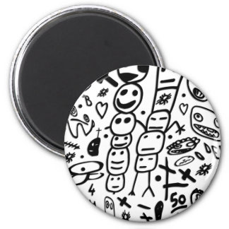 Zef Prawn Magnet
