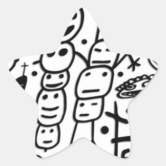 Zef Prawn Star Sticker