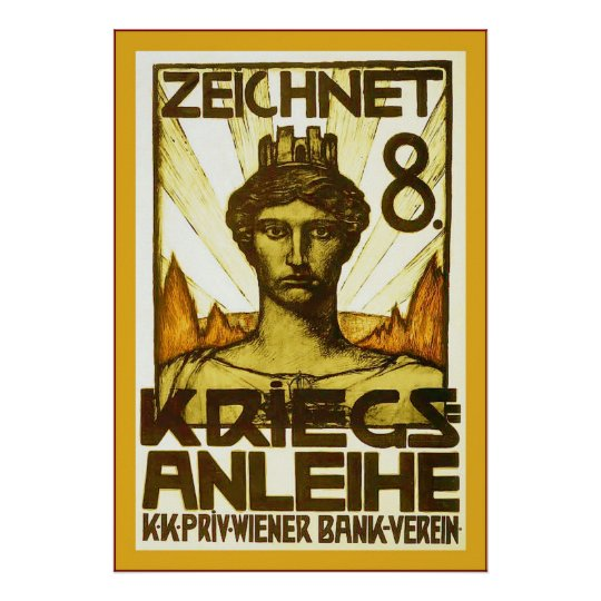 Zeichnet 8 ~ Vintage World War 1 Poster