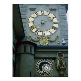 Zeitglocken, Bern, Switzerland Postcard