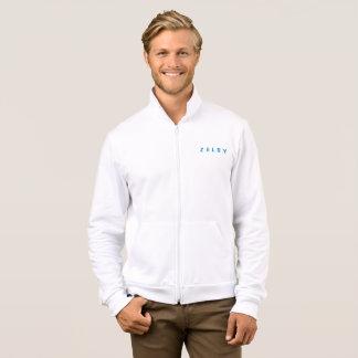 Zelby Men's American Apparel Fleece Zip Jogger Jacket