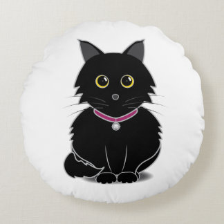 Zelda the Black Cat Cushion