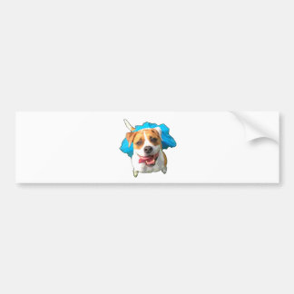 Zelda the Bulldog Bumper Sticker