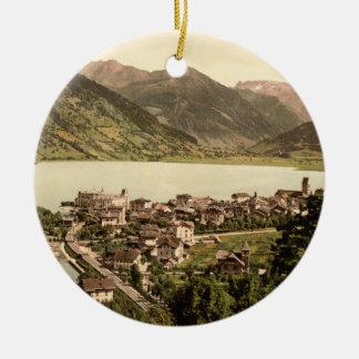 Zell am See I, Salzburg, Austria Ceramic Ornament