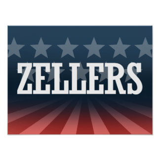 ZELLERS 2014 - Election Posters