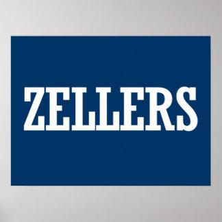 ZELLERS 2014 - Election Print
