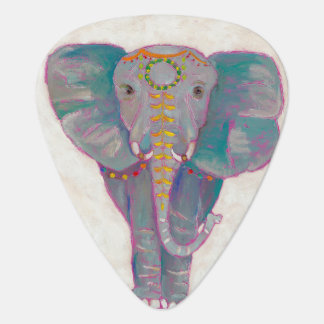Zen Asian Elephant Guitar Pick