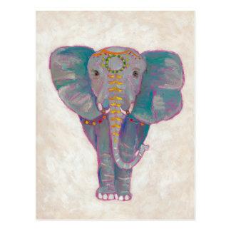 Zen Asian Elephant Postcard