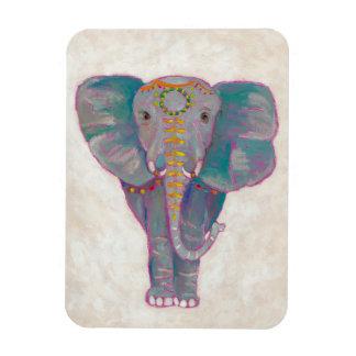 Zen Asian Elephant Rectangular Photo Magnet