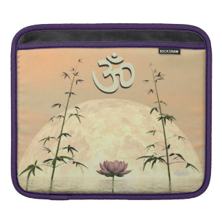 Zen aum - 3D render iPad Sleeve