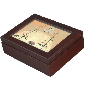 Zen aum - 3D render Keepsake Box