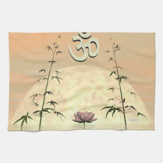 Zen aum - 3D render Kitchen Towel