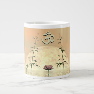 Zen aum - 3D render Large Coffee Mug