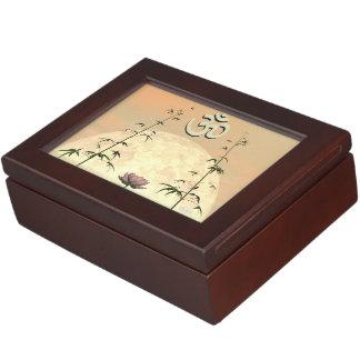 Zen aum - 3D render Memory Box