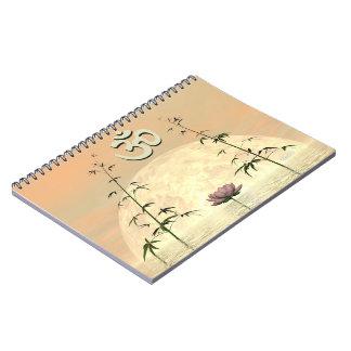 Zen aum - 3D render Notebook