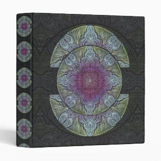 Zen Awakening, reiki, healing, chakra 3 Ring Binder