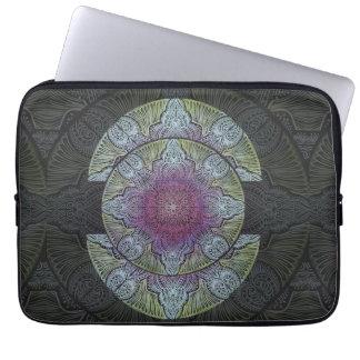 Zen Awakening, reiki, healing, chakra Laptop Sleeve