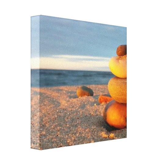 ZEN Beach Canvas Wall Art