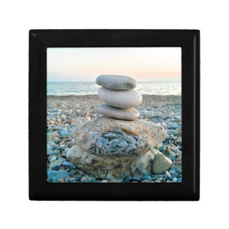 Zen Beach Stones Gift Box