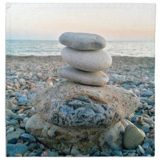 Zen Beach Stones Napkin