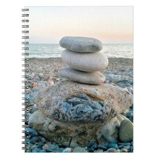 Zen Beach Stones Notebooks
