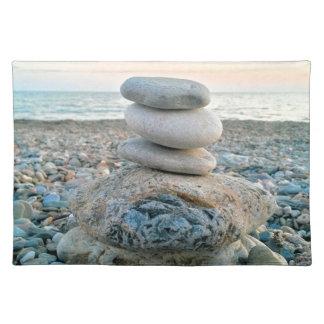 Zen Beach Stones Placemat